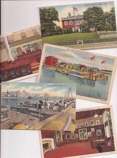 Albany New York, vintage postcards