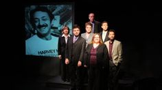 U-T San Diego article with photo:  The play Dear Harvey (shown in an earlier production) will be part of the inaugural San Diego Fringe Festival.