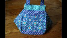 Wenn Ihr auf der Suche nach einer echt originellen Tasche seid werdet Ihr hier vielleicht fündig werden. Das Schnittmuster bekommt Ihr hier: http://www.kreat...