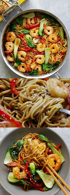 Shrimp Lo Mein – the best and most delicious Shrimp Lo Mein recipe ever! Made with Simply Asia Chinese Style Lo Mein Noodles, it's better than Chinese restaurants | rasamalaysia.com #ad @mccormickspice