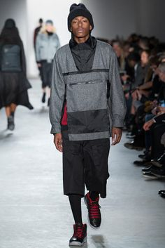Public School - Fall 2015 Ready-to-Wear - Look 15 of 44 - NY fashion week Dope Fashion, School Fashion, Fashion Show, Mens Fashion, Fashion Design, Runway Fashion, Fall Winter 2015, Autumn, Couture