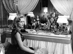 American actress Constance Dowling; (photo from her 1946 film noir Black Angel)