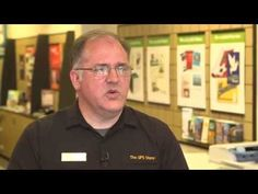 UPS CEO David Abney Uses 3D Printer at The UPS Store - YouTube