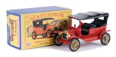 Matchbox Models of Yesteryear No.Y1-2 Ford Model T Car.