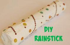 School Time Snippets: Make a Rainstick Senses Preschool, Preschool Art Activities, Jungle Activities, Preschool Jungle, Dyi Crafts, Fun Crafts For Kids, Daycare Crafts, Rain Stick Crafts, Homemade Drum