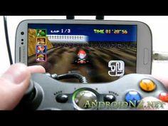 OMG: Samsung Galaxy S3 Connectivity demo - USB OTG, MHL, bluetooth keyboards/mice, games controllers