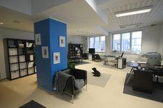 Toimistotila Helsingin Siltasaaressa. Lisää kuvia voit käydä katsomassa täällä http://www.utti.fi/Toimistot-I
