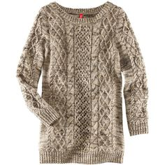 H&M Jumper ($31) ❤ liked on Polyvore featuring tops, sweaters, shirts, jumpers, beige, long tops, long length shirts, jumpers sweaters, shirts & tops and brown sweater