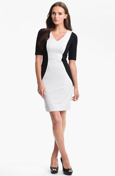 Trina Turk 'Vamp' Stretch Knit Sheath Dress available at Nordstrom Style Me, Cool Style, Got The Look, Southern Belle, Trina Turk, Nordstrom Dresses, Get Dressed, Sheath Dress, Editorial Fashion