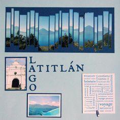 Lago Atitlan in Guatemala - Scrapbook.com