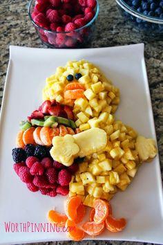 Worth Pinning: Chick Fresh Fruit Platter