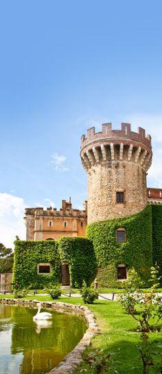 Peralada Castle Winery, Girona, Spain