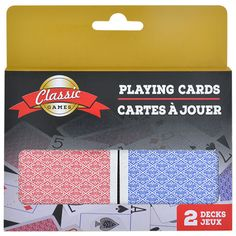 2-Deck Packs of Playing Cards