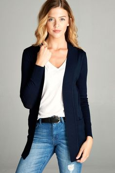 Out The Door Cardigan (Several Colors)