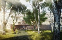 museo maya de america by harry gugger studio and over,under in guatemala city, guatemala