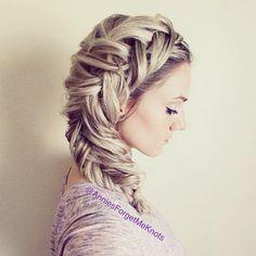 How to: Dutch Fishtail Braid (Elsa hair)