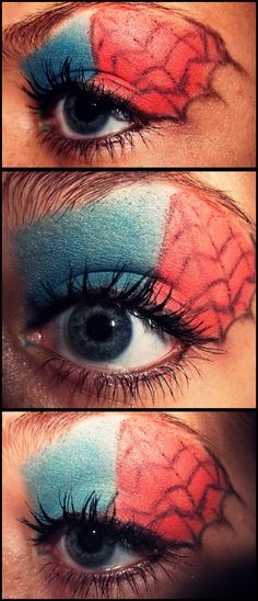 A more intense spidey, maybe more as costume make-up.