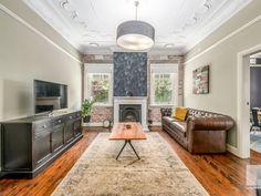 Rustic Contemporary, Kitchen Island, Home Decor, Island Kitchen, Decoration Home, Room Decor, Rustic Modern, Home Interior Design, Home Decoration