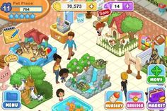 Pet Shop Story created by TeamLavaGames. Purpose: Build a pet store with many animals and winning money from the tourist that come and sees it. Teaching the responsibility of owning something. Teaching it by making you be were of it all the time and cover all the basics needs of the animals. PS: Math. A)Topic-2 B)Strategy-2 C)Coordination-1 D)Teamwork-1 E)Thinking-2 F)Story-1