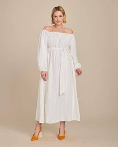 6 Spring/Summer 2020 Trends Emerging From New York Day To Night Dresses, Night Gown, Plus Size Dresses, Plus Size Outfits, Pulled Back Hairstyles, Satin Midi Skirt, Feminine Dress, Mara Hoffman, Formal Gowns