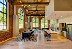 Lofts, Sips Panels, Warehouse Living, Adaptive Reuse, Modern Loft, Old Building, Building Ideas, Learning Spaces, Fireplace Design