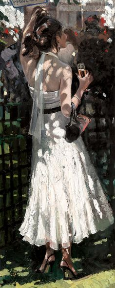 My Fair Lady I [Sherree Valentine Daines-A699] - $500.00 painting by oilpaintingsartmaker.com