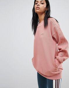55351724684d85 adidas Originals – Sweatshirt in Rosa. ASOS