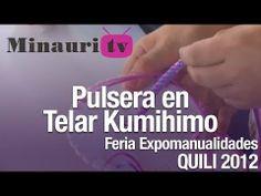 DIY - Kumihimo Pulsera ( How-to do Bracelet ) -----  Free Video tutorial ->>  https://www.youtube.com/user/MinauriTV - Video gratis ------   Free pattern download ->>  www.minauri.com - Molde en descarga gratis