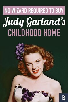 From grocery store tips to store deals and celebrity net worth, learn how to live the frugal, fun lifestyle. Judy Garland, Frugal Tips, Celebrity Houses, Swirls, Photo Credit, Growing Up, Behind The Scenes, Childhood, Marketing
