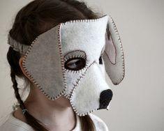 Dog Mask PDF Pattern por oxeyedaisey en Etsy