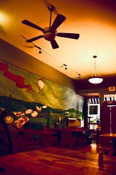 Bakery Interior. Trade Street. Winston-Salem. Bakery Interior, Winston Salem, Aircraft, Street, Aviation, Plane, Airplanes, Roads, Walkway