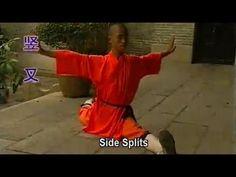 ▶ Shaolin Kong fu Basic Training 3: basic movements, stretching, drills - YouTube