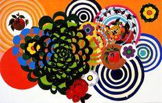 Beatriz Milhazes - As Tulipas. Art Experience:NYC http://www.artexperiencenyc.com/social_login
