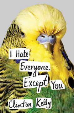I hate everyone except you 9781476776934 hr