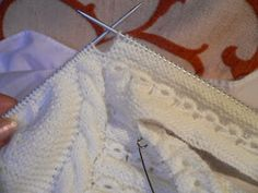 emilia y sus labores de punto: jersey bebé primera postura