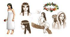 Dian Masalanta - The Goddess of Love by trixdraws