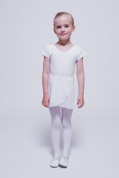 "Ballett Wickelrock ""Emma"", weiß"