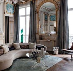 Schon Modernes Mobiliar Im Raum In Barock Stil Gestaltung Barock Möbel, Pariser,  Luxus, Romantisch