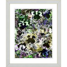 @Overstock - Artist: Studio Works Modern   Title: Wild Pansies Floral   Product type: Framed and matted Giclee fine art print   http://www.overstock.com/Home-Garden/Studio-Works-Modern-Wild-Pansies-Floral-Framed-Giclee-Art-Print/7492423/product.html?CID=214117 $77.99