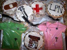 gallery of nurse cookies   Nurse Cookie Set — Cookies!