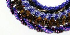 Náramek Americká šňůra Spiral, Beaded Bracelets, Beads, Jewelry, Flora, French, Tatoo, Fimo, Beading