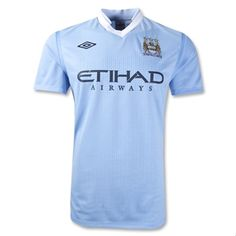 Manchester City 11/12 Home Soccer Jersey