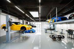 A Stunning Garage: Speedshop Type One by Torafu Architects   Hypebeast