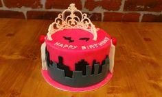 Gâteau à 2 thèmes pour une mère et sa fille - NYC & Princesse 2 themed cake for mother and daughter - NYC & Princess