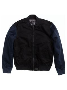 quiksilver, , BLACK - The Duke Bomber