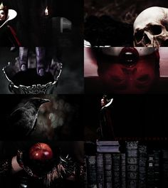 """""""Her breath will still; her blood congeal, then I'll be fairest in the land."""" → Queen Grimhilde"""
