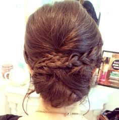 Casual chic boho updo by The Parlour London www.theparlourlondon.com
