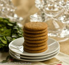 My first nibble of Annabelle's Ginger Crisps sold me on ginger cookies decades ago. This is my grandmother's recipe for an old classic.