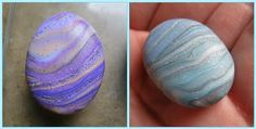 How to make Faux Pebbles.  #Polymer #Clay #Tutorials