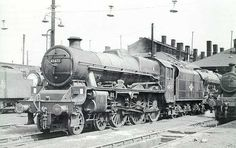 45672 Anson Steam Trains Uk, Steam Railway, Old Trains, Steam Engine, Steam Locomotive, Train Station, Model Trains, Abandoned Places, Shed